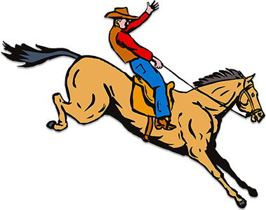 Free clipart cowboys walking with horse banner freeuse library Free Wild West Clipart - Cowboys - Animations banner freeuse library