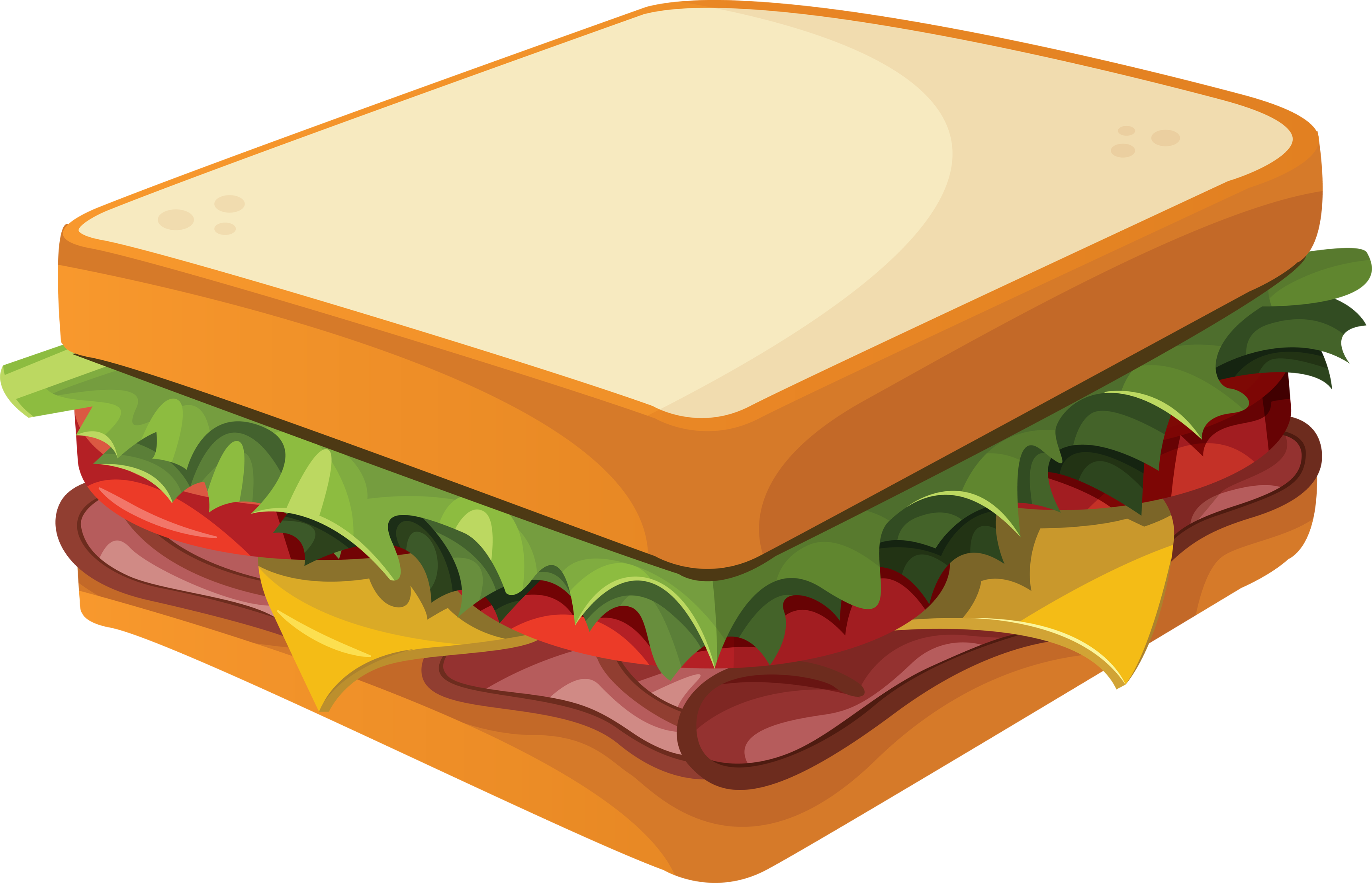 Turkey and cheese sandwich clipart png library stock 28+ Collection of Turkey And Cheese Sandwich Clipart | High quality ... png library stock