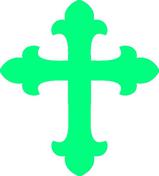 Free clipart cross vector freeuse stock Mint Green Cross Clip Art at Clker.com - vector clip art online ... vector freeuse stock