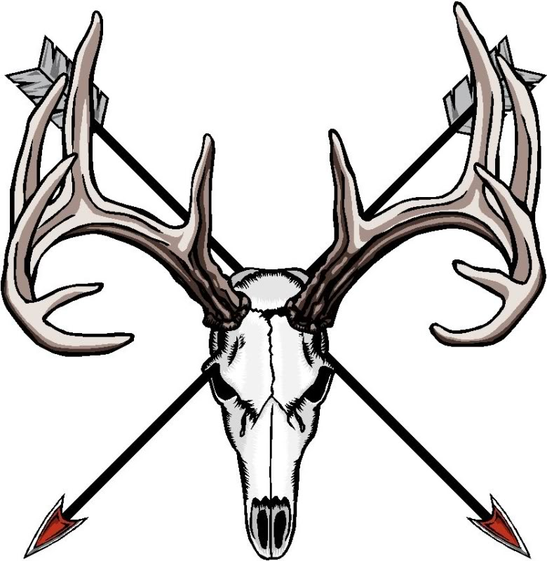Free clipart cross with arrow jpg free download Cross Arrow Deer Skull Clipart - The Cliparts jpg free download