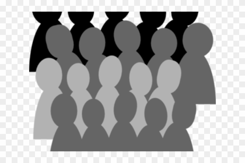 Free clipart crowd image freeuse download Crowd Clipart Free Download On Rpelm Banner Black And - Audience ... image freeuse download