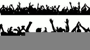 Free clipart crowd clipart royalty free Free Clipart Cheering Crowd | Free Images at Clker.com - vector clip ... clipart royalty free