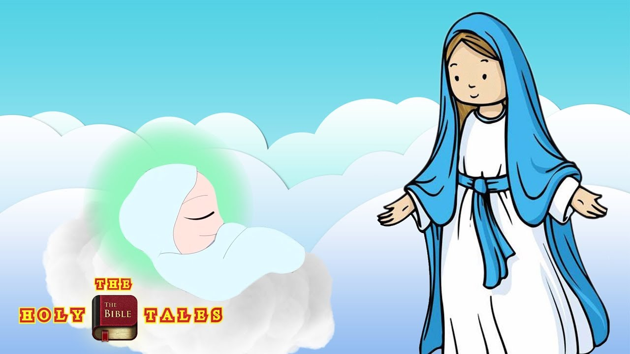 Stories virgin maryi animated. Free clipart crowing mary mother of god