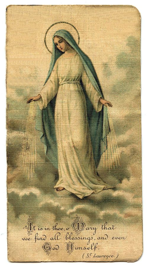 Vintage clip art holy. Free clipart crowing mary mother of god