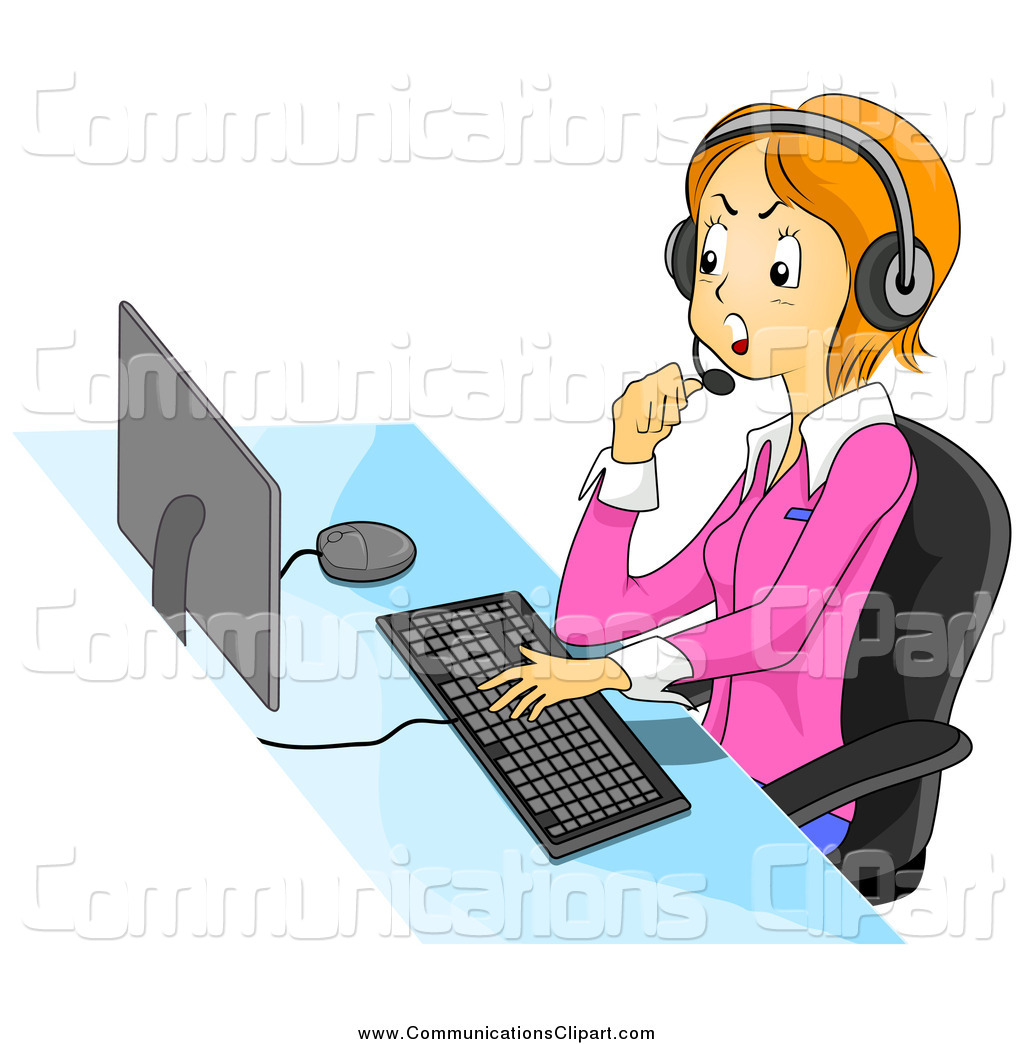 Free clipart customer service representatives png black and white Royalty Free Customer Service Representative Stock Communication ... png black and white
