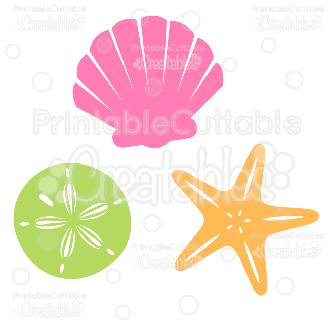 Free clipart scrolls and flourishes wave and seashell banner Sea Shells Free SVG Cut File & Clipart banner