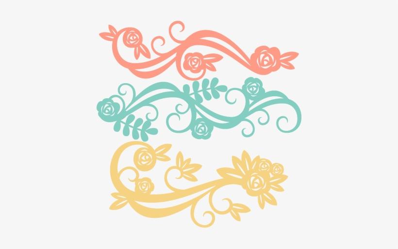 Free clipart cut files jpg library Flower Flourishes Svg Scrapbook Cut File Cute Clipart - Cute Free ... jpg library