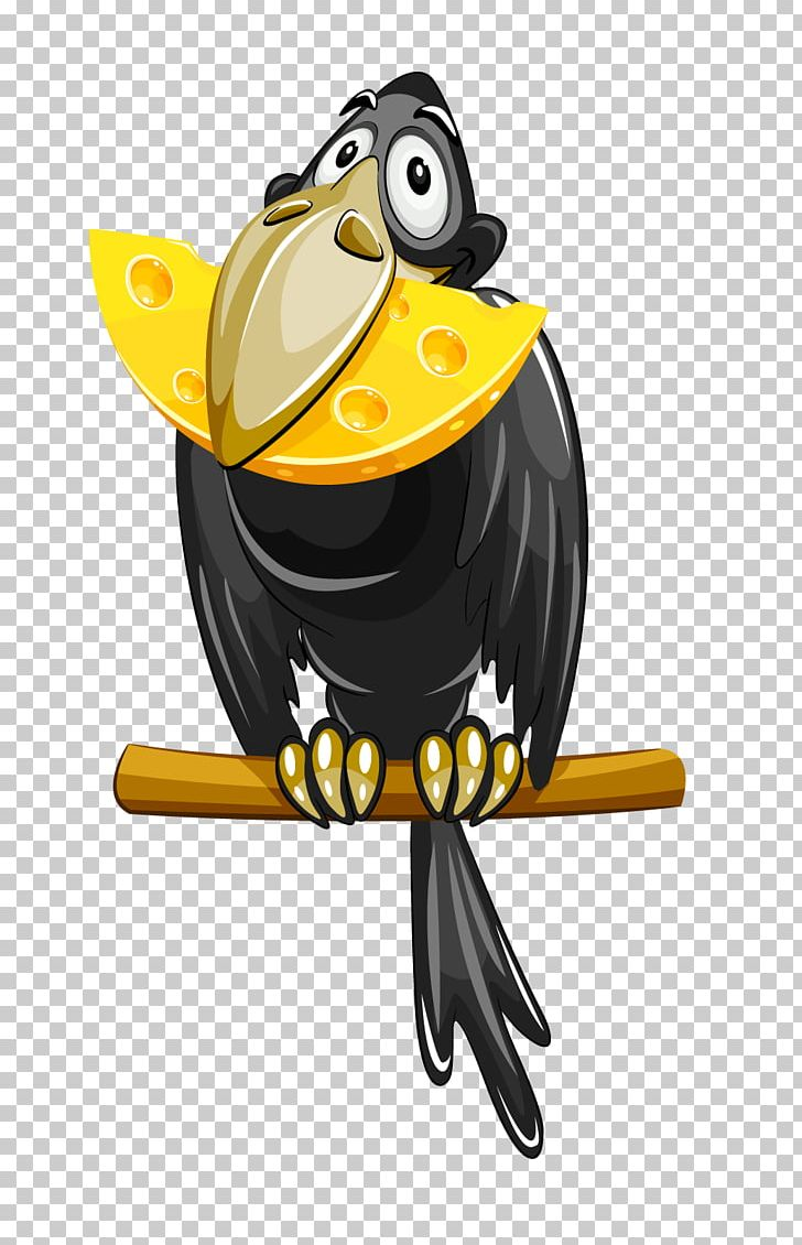 Free clipart cute hound wine & cheese picture download The Fox And The Crow Cheese PNG, Clipart, Animals, Beak, Bird ... picture download