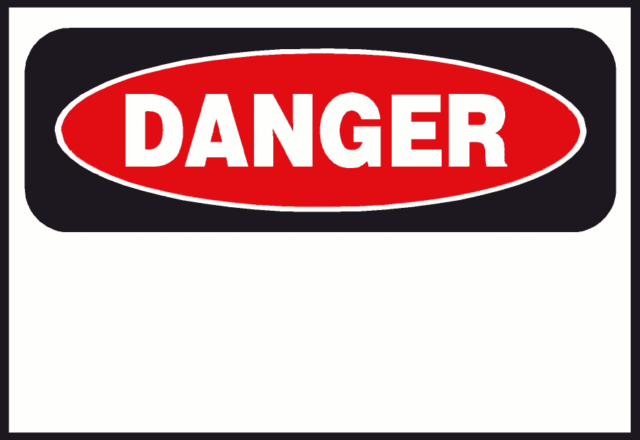 Free clipart danger banner black and white library Free Danger Cliparts, Download Free Clip Art, Free Clip Art on ... banner black and white library