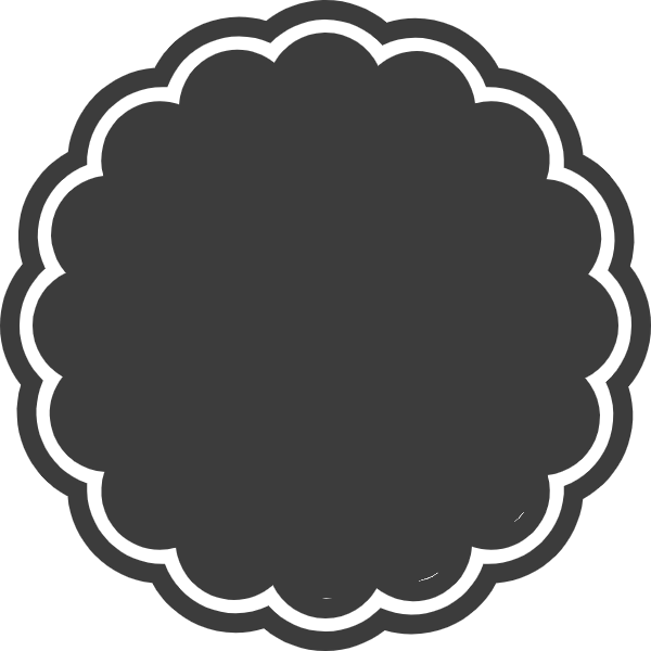 Free clipart designs headers geometric black white graphic black and white Unique Frame Basics Clip Art and Vectors for Design Inspiration ... graphic black and white