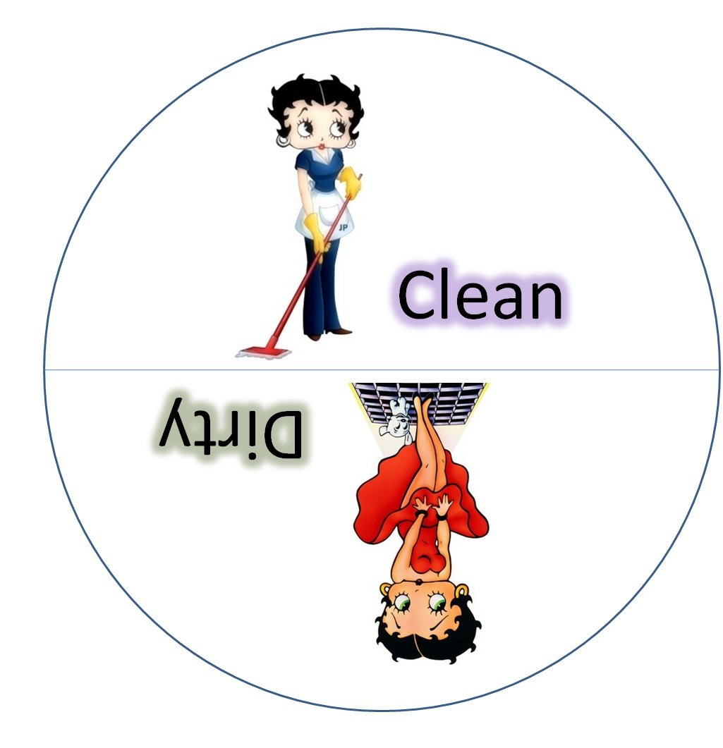 Original betty boop clean. Free clipart dirty silverware in the dishwasher