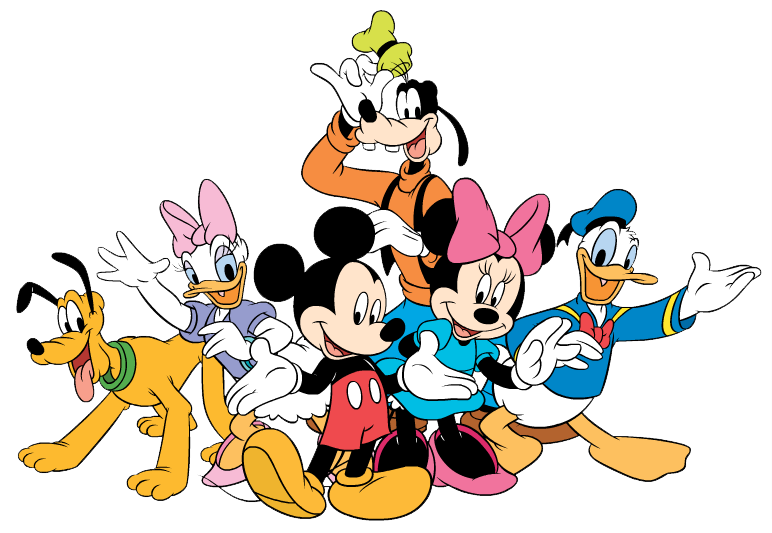 Gang cartoon clipart png clipart download Mickey Mouse Gang Clipart - Free Clipart | DISNEY CHARACTERS ... clipart download
