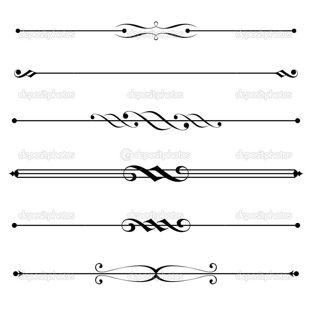 Free clipart divider line cross. Lines and dividers things