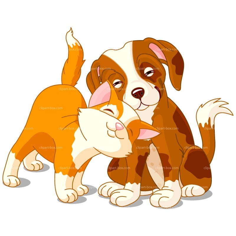 Free clipart dog and cat together. Cartoon download best