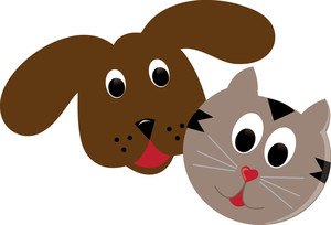 Free clipart dog and cat together. Look at clip art