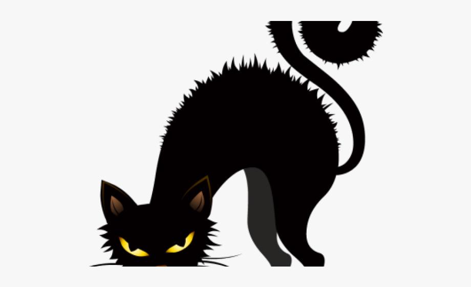 Creepy clipart clip art transparent Creepy Clipart Black Cat - Black Cat Halloween Clipart #106271 ... clip art transparent