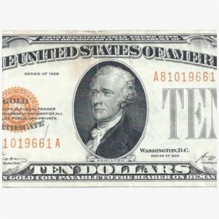 Free clipart dollar 10 free stock Transparent Dollar Clipart Png - 1928 10 Dollar Bill #2497072 - Free ... free stock