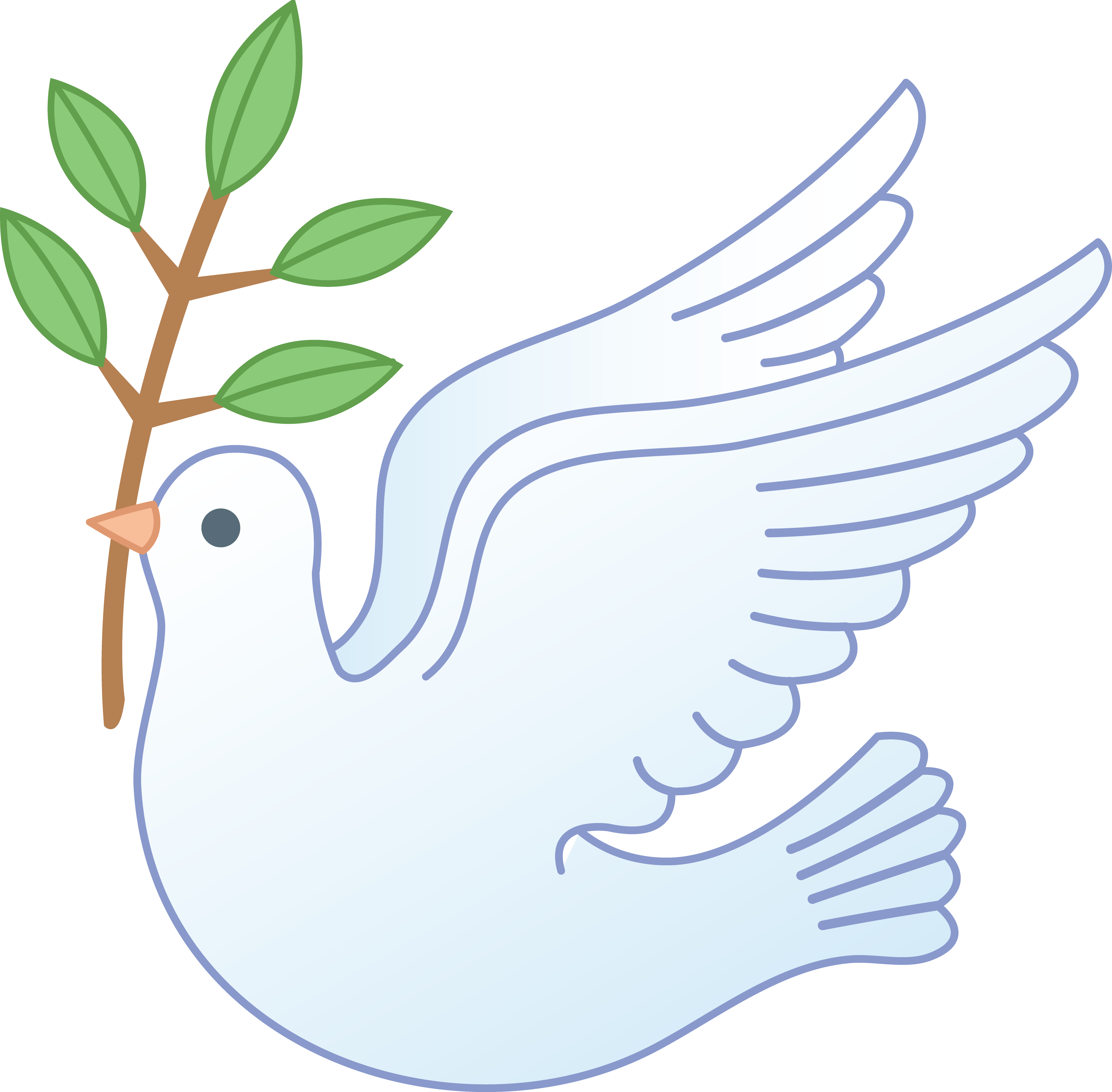 Free clipart dove with olive branch png free Free Picture Of Dove With Olive Branch, Download Free Clip Art, Free ... png free