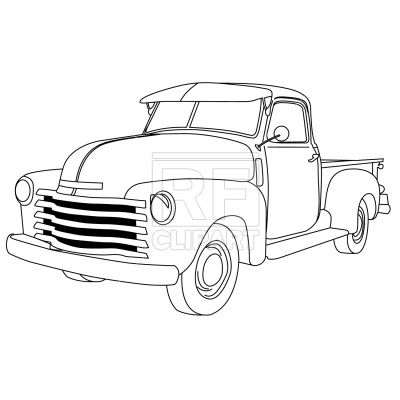 Free clipart downloads ford pickup trucks chargers clip art free download Old american pick-up truck Vector Image – Vector illustration of ... clip art free download