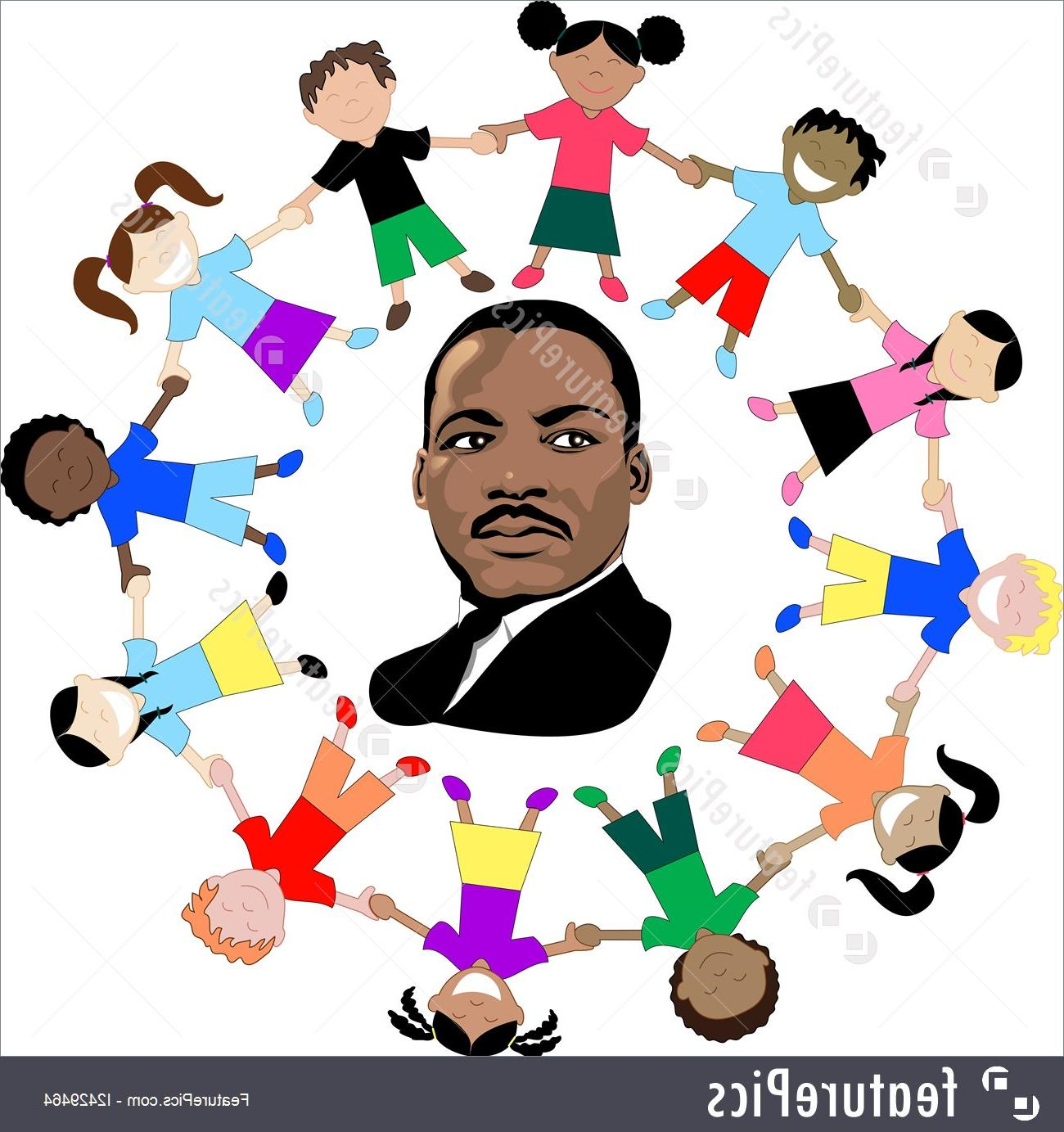 Free clipart dr martin luther king. Unique l jr vector