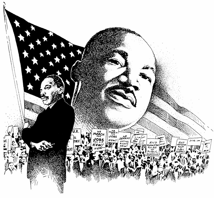 Find this pin and. Free clipart dr martin luther king