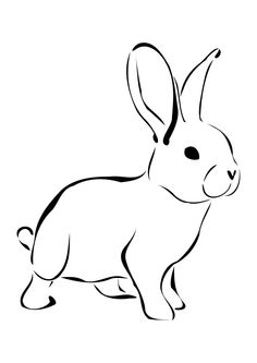 best clip art. Free clipart drawings of rabbits in the forest