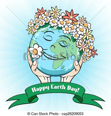 Free clipart earth day april 22 clip art stock Clipart Vector of April 22 Earth Day Card - April 22 Earth Day ... clip art stock