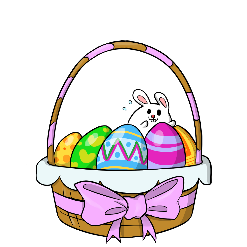 Free clipart easter basket clip royalty free download easter clipart | Free Easter Basket 2 Clip Art | easter | Pinterest ... clip royalty free download