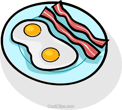Free clipart eggs and bacon graphic black and white download bacon and eggs Royalty Free Vector Clip Art illustration -vc061770 ... graphic black and white download