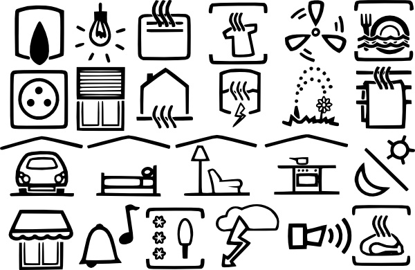 Free clipart electrical symbols clip royalty free Electric Symbols clip art Free vector in Open office drawing svg ... clip royalty free