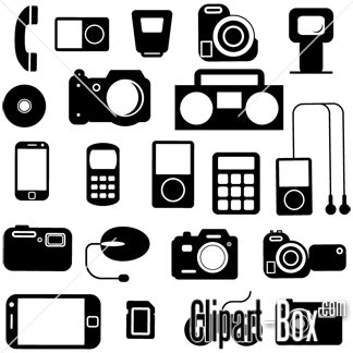 Free clipart electronics clip art royalty free download CLIPART ELECTRONIC ICONS SET   Clipart Panda - Free Clipart Images clip art royalty free download