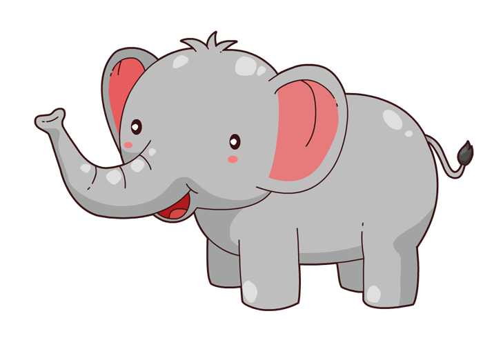 Free clipart elephant cartoon png black and white Free Elephant Cliparts, Download Free Clip Art, Free Clip Art on ... png black and white