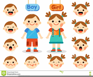 Free clipart emotion faces picture library download Clipart Faces Showing Emotions | Free Images at Clker.com - vector ... picture library download