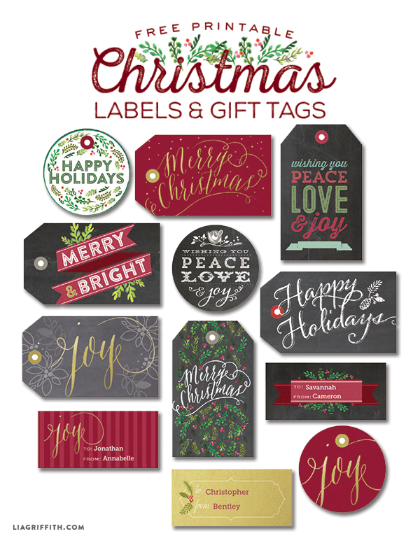Free clipart facebook christmas gift of chris vector library free christmas labels | Worldlabel Blog vector library