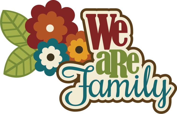 Free clipart family thanksgiving banner library Birthday Scrapbook Sayings | We Are Family SVG scrapbook title ... banner library