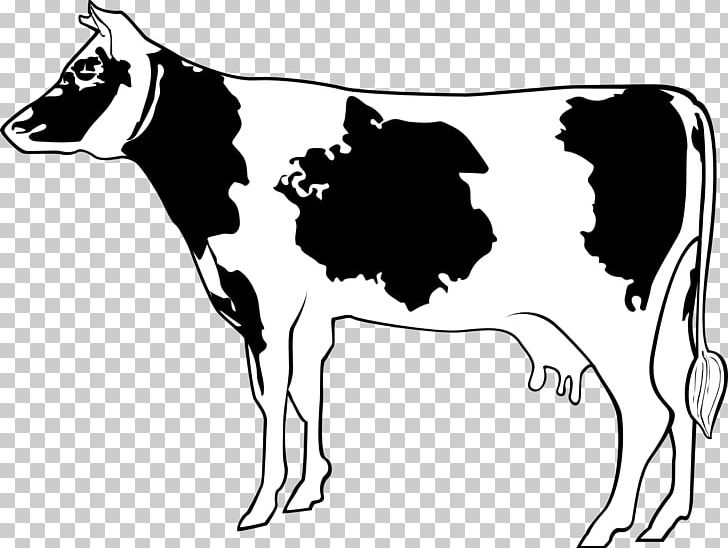 Free clipart farm animals black and white cow vector transparent download Holstein Friesian Cattle Farm Goat Dairy Cattle PNG, Clipart ... vector transparent download