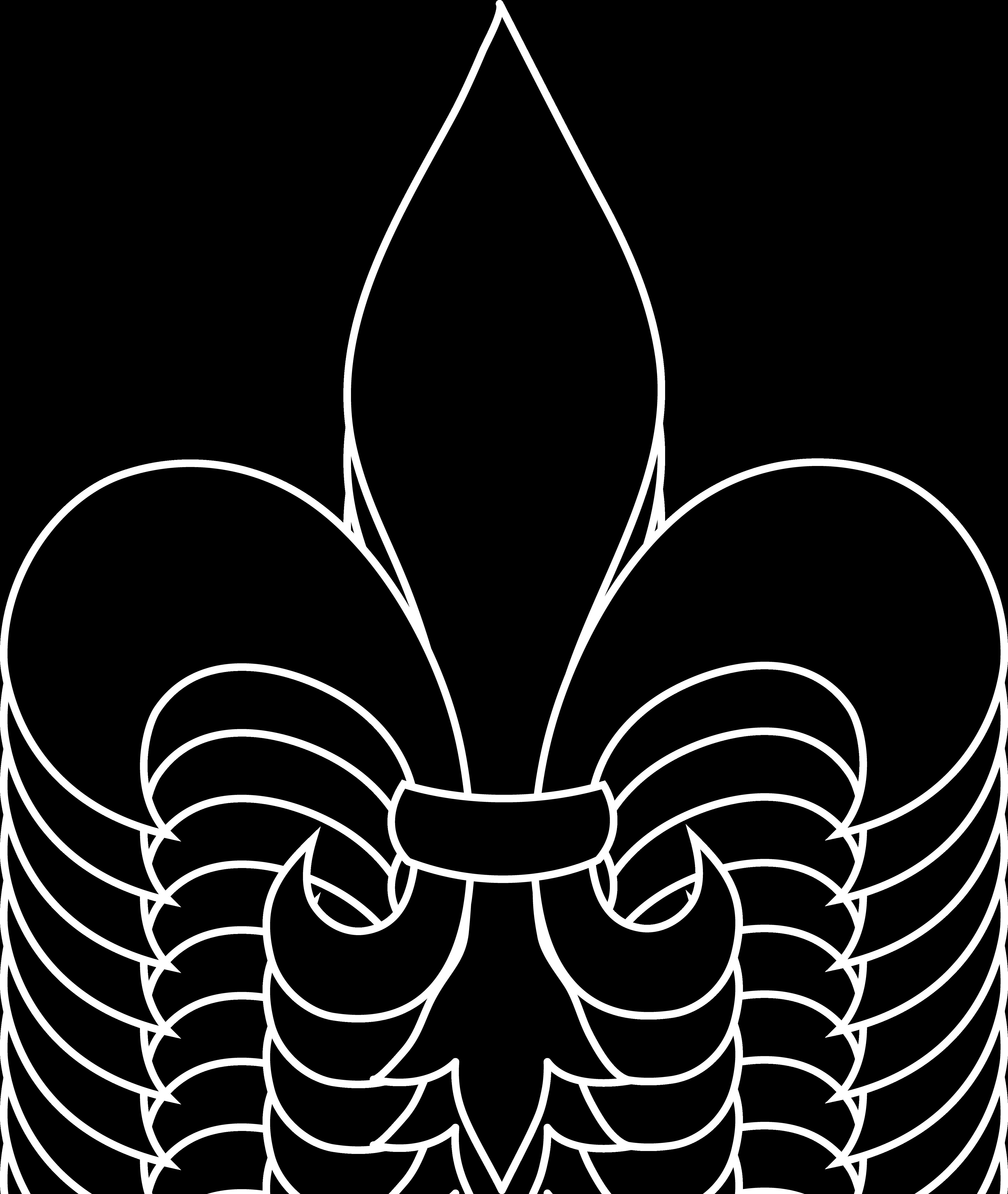 Free clipart fleur de lis image royalty free download frrench free clip art | Black Fleur De Lis Silhouette -for flyer ... image royalty free download