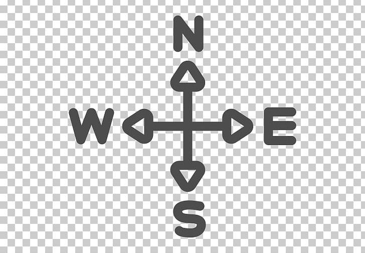 Free clipart for a compass with cross. North computer icons east