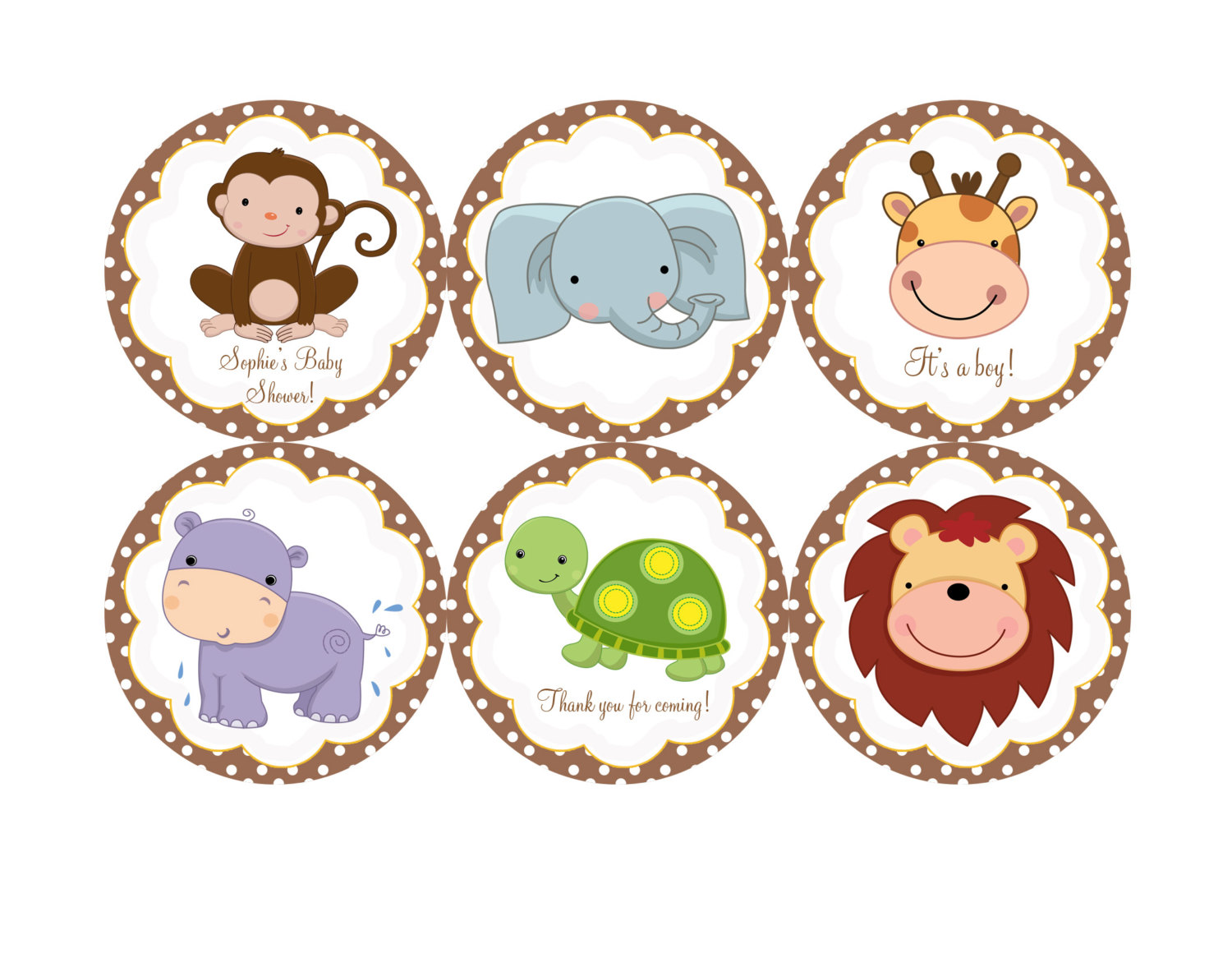 Free clipart for baby showers graphic free download Jungle Baby Shower Clipart - Clipart Kid graphic free download