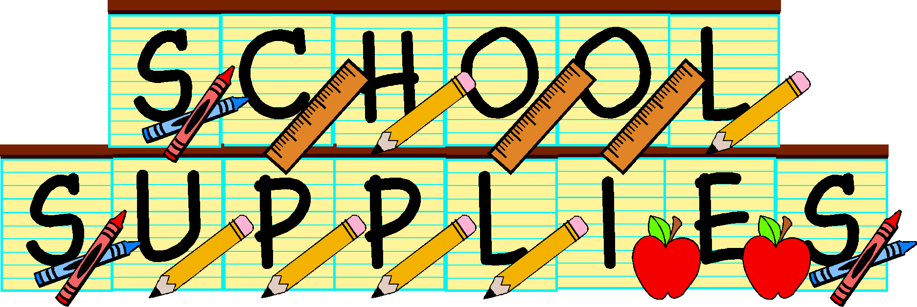 Supply room clipart image transparent stock Free Images Of School Supplies, Download Free Clip Art, Free Clip ... image transparent stock