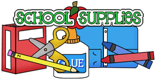 Free clipart for back to school supplies clip art library Back to School. Supplies | Clipart Panda - Free Clipart Images clip art library