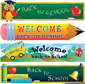 Free clipart for back to school supplies clip art black and white download Free Back To School Supplies Clipart | Free Images at Clker.com ... clip art black and white download