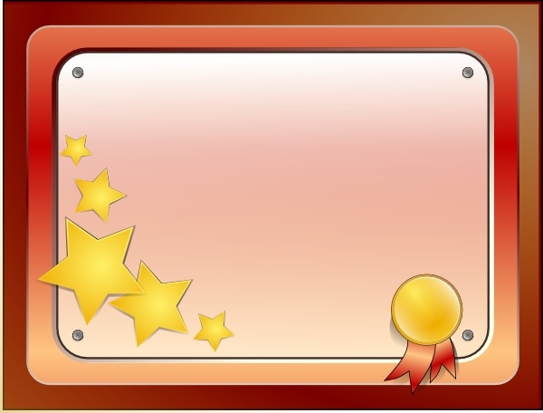 Certificate clip art vector. Free clipart for certificates