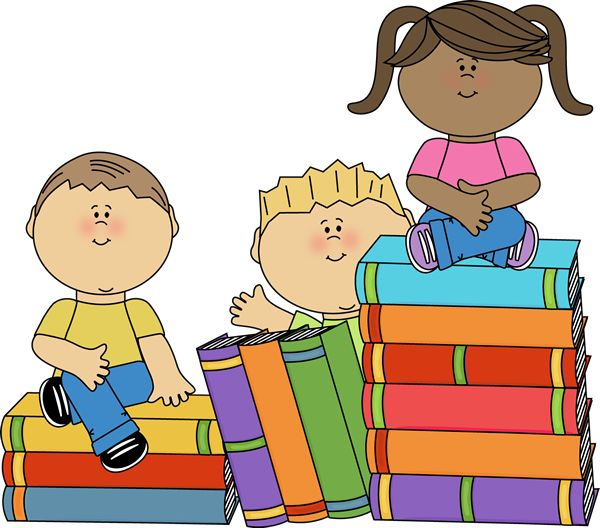Free clipart for children-s books image black and white library Free Clipart Children Reading Books | Free download best Free ... image black and white library
