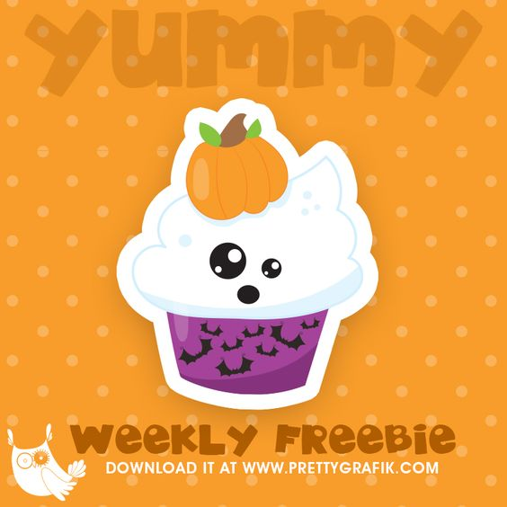Free clipart for educational use png free Halloween Cupcake Freebie, free clipart, freebie, commercial use ... png free