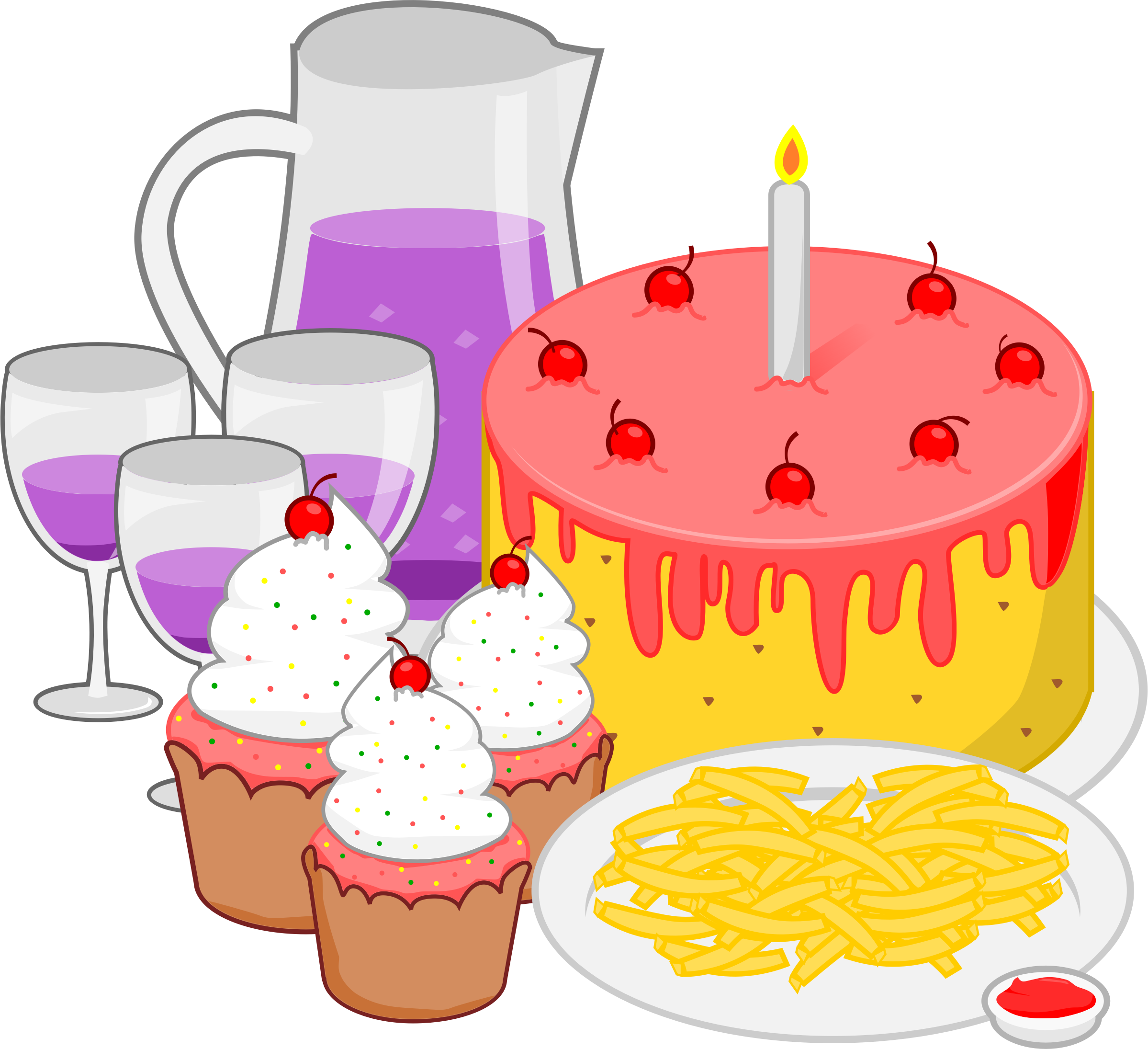 Apple celebration clipart clipart black and white library Celebration clipart food FREE for download on rpelm clipart black and white library