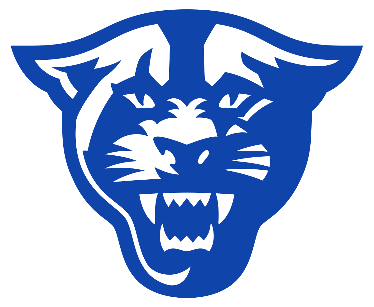 Panther baseball clipart jpg black and white library Georgia State Panthers - Wikipedia jpg black and white library