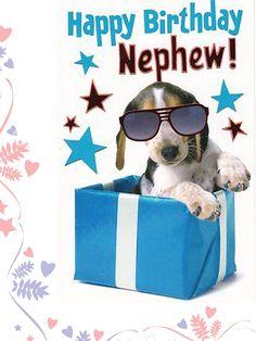 Free clipart happy birthday nephew graphic black and white 55 Best Happy Birthday Nephew images in 2018 | Birthday wishes ... graphic black and white