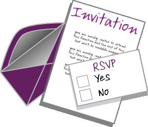 Free clipart for invitations jpg freeuse stock Invitation Clip Art | Clipart Panda - Free Clipart Images jpg freeuse stock