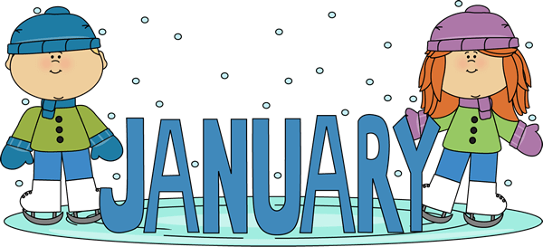 Junction . Free clipart for january